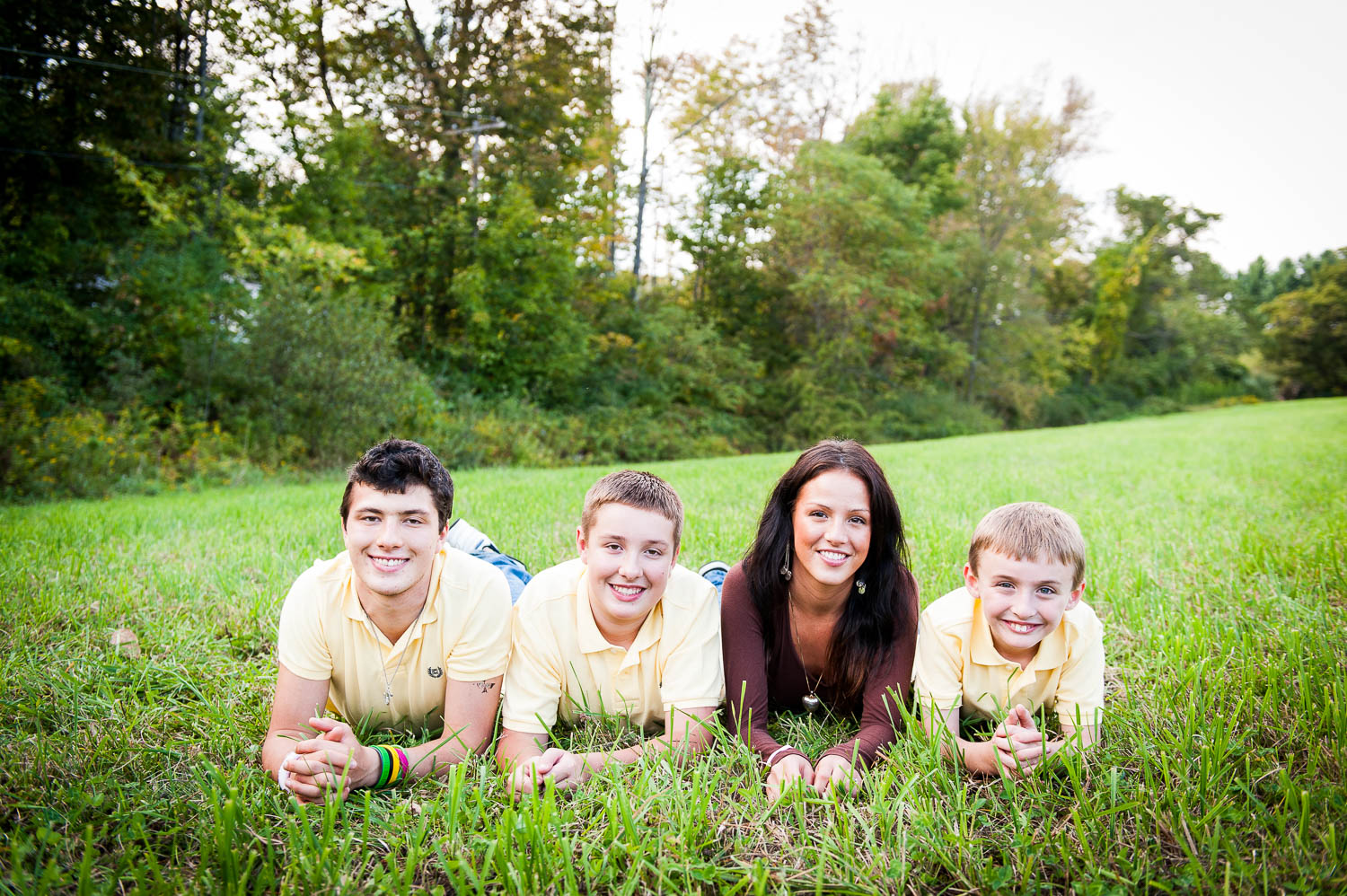 family photo session: party of four