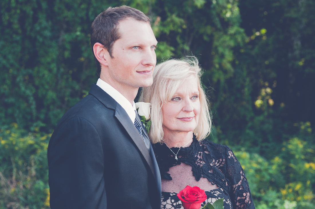 groom with mother